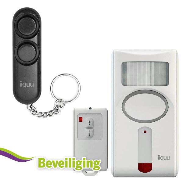 Beveiliging en personen alarm