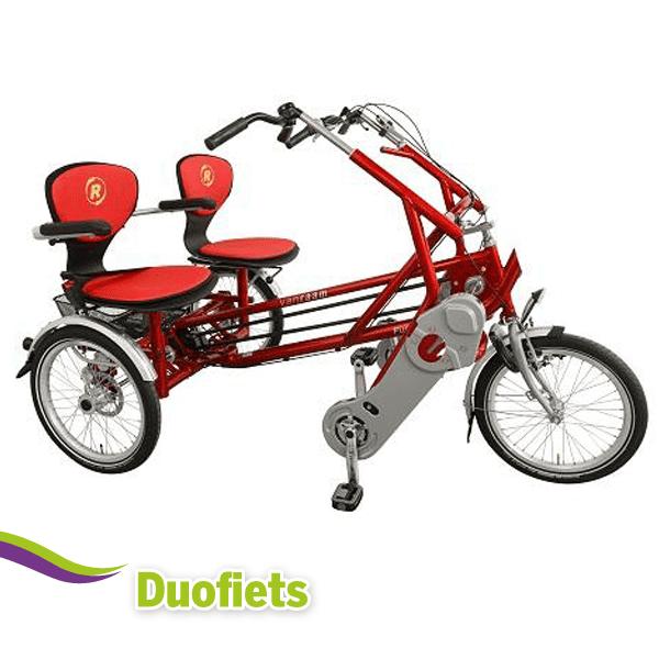 Duo en driewiel fietsen