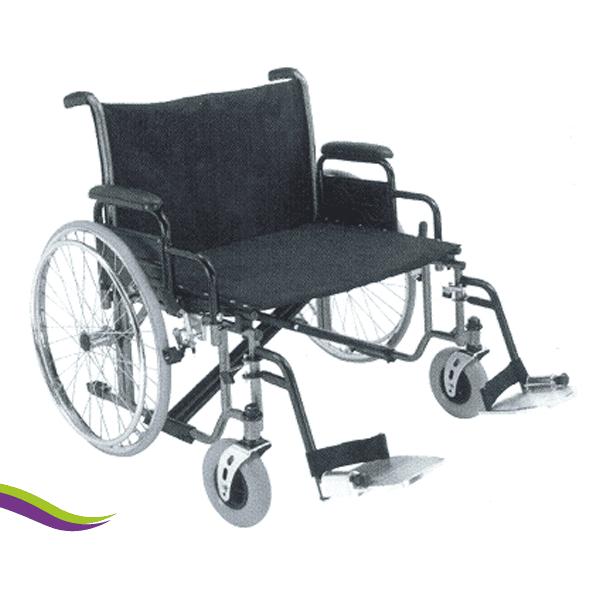Heavy duty rolstoel 65 cm breed
